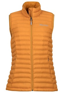 Women's Solus Featherless Vest, Golden Eye, medium