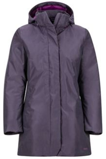 Women's Aitran Featherless Jacket, Purple, medium