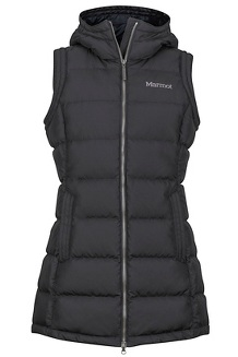 Women's Origins Vest, Black, medium