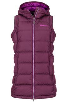 Women's Origins Vest, Dark Purple, medium
