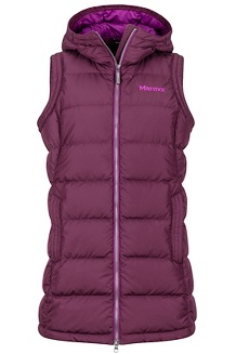 Women's Origins Vest, Dark Purple, medium