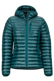 Women's Avant Featherless Hoody, Deep Teal, medium