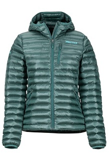 Women's Avant Featherless Hoody, Mallard Green, medium