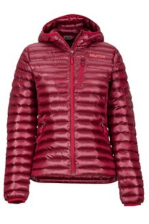 Women's Avant Featherless Hoody, Sienna Red, medium