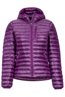 Women's Avant Featherless Hoody, Grape, medium