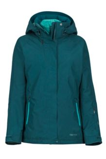 Women's Sugar Loaf Component Jacket, Deep Teal, medium