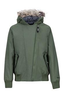 Girl's Stonehaven Jacket, Crocodile, medium