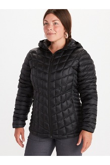 Women's Featherless Hoody, Black, medium