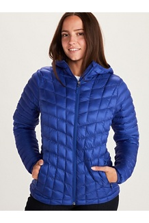Women's Featherless Hoody, Royal Night, medium