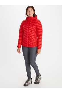 Women's Featherless Hoody, Victory Red, medium