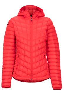 Women's Featherless Hoody, Scarlet Red, medium