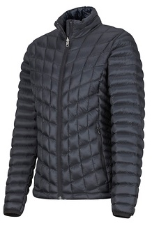 Women's Featherless Jacket, Black, medium