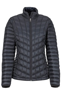 Women's Featherless Jacket, Black, medium