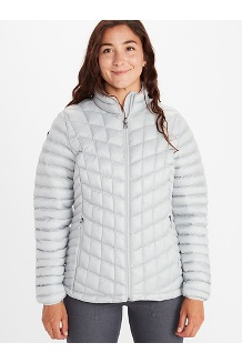 Women's Featherless Jacket, Clear Blue, medium