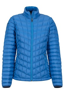 Women's Featherless Jacket, Lakeside, medium