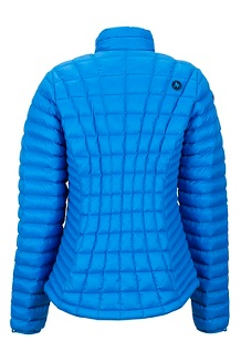Women's Featherless Jacket, Clear Blue, medium