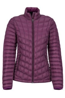 Women's Featherless Jacket, Dark Purple, medium
