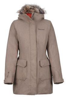 Women's Georgina Featherless Jacket, Desert Khaki, medium