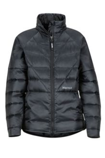 Girls Hyperlight Down Jacket, Black, medium