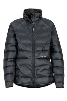 Girls' Hyperlight Down Jacket, Black, medium