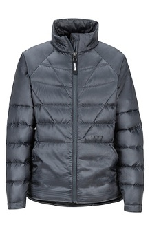 Girls' Hyperlight Down Jacket, Dark Steel, medium