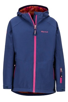 Girls' Refuge Jacket, Arctic Navy, medium