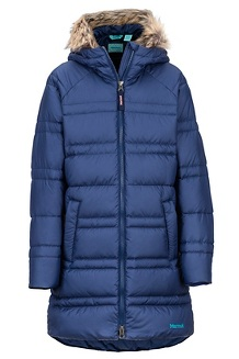Girls' Montreaux 2.0 Coat, Arctic Navy, medium