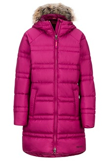 Girls' Montreaux 2.0 Coat, Purple Berry, medium