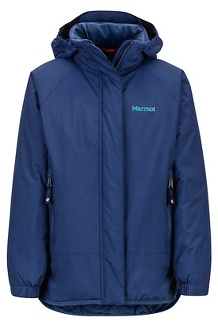 Girls' Janet Jacket, Arctic Navy, medium