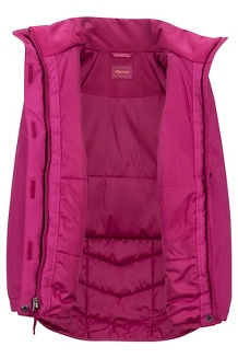 Girls' Janet Jacket, Purple Berry, medium