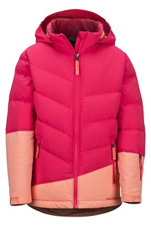Girls' Slingshot Jacket, Disco Pink/Spritzer, medium