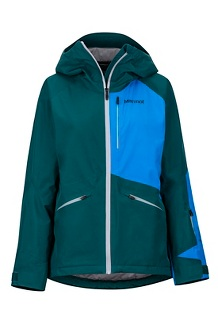 Women's Lightray Jacket, Deep Teal/Clear Blue, medium