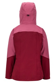 Women's Featherless Component 3-in-1 Jacket, Claret/Dry Rose, medium