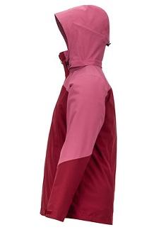 Women's Featherless Component 3-in-1 Jacket, Claret/Dry Rose, medium