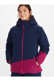 Women's Slingshot Jacket, Arctic Navy/Wild Rose, medium