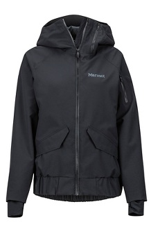 Women's Queenstown Jacket, Black, medium