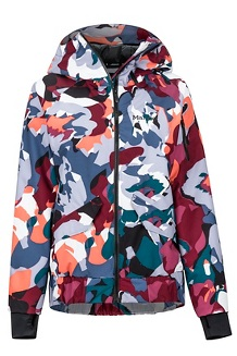 Women's Queenstown Jacket, Multi Pop Camo, medium