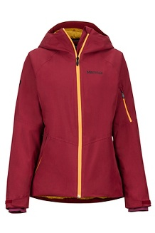 Women's Refuge Jacket, Claret, medium
