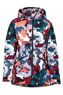 Women's Val D'Sere Jacket, Multi Pop Camo, medium