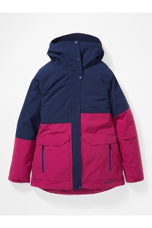 Women's Wilder Jacket, Wild Rose/Arctic Navy, medium