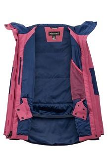 Women's Wilder Jacket, Dry Rose/Arctic Navy, medium