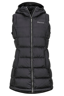 Women's Ithaca Vest, Black, medium
