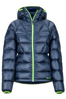 Women's Hype Down Hoody, Arctic Navy, medium