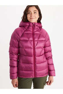 Women's Hype Down Hoody, Wild Rose, medium