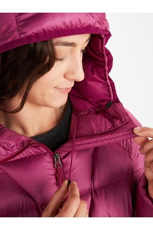 Women's Hype Down Hoody, Sleet, medium