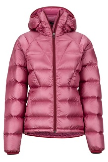 Women's Hype Down Hoody, Dry Rose, medium