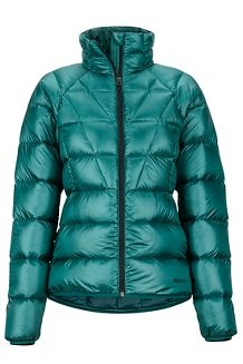 Women's Hype Down Jacket, Deep Teal, medium