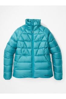 Women's Hype Down Jacket, Enamel Blue, medium