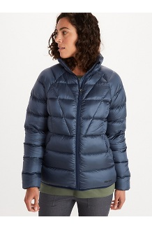 Women's Hype Down Jacket, Arctic Navy, medium