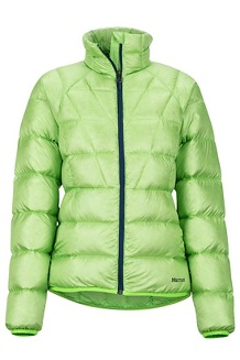 Women's Hype Down Jacket, Vibrant Green, medium